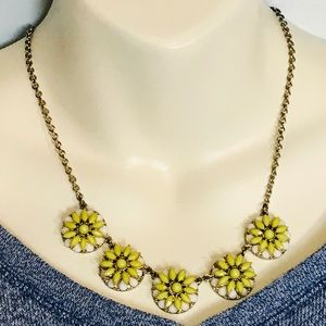 Jewelry - Sunflower Daisy Flower Necklace Chain Adjustable